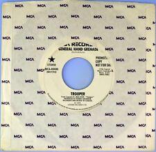 "7"" TROOPER General Hand Grenade BACHMAN TURNER OVERDRIVE Promo MCA Rock USA 1975"