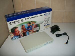 HP JetDirect 170X Office Connect Printserver J4102B / LAN, Parallel  / inkl. OVP