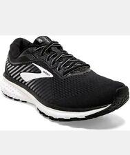 Brooks Mens Ghost 12 Running Shoe Black/Ebony/White Men's Size 11 Med Size 11