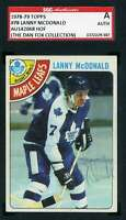 Lanny Mcdonald 1978 79 Topps SGC Coa Autograph Authentic Hand Signed