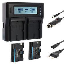 2x Batterie pour canon lp-e6 + Dual Chargeur Charger pour canon lp-e6 (N) | 65164 | 90329