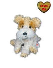 Ty Beanie Babies 7in Scrappy Fox Terrier Puppy Dog Stuffed Plush Animal 2004
