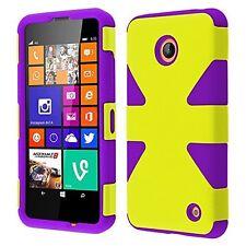 Nokia Lumia 635 (MetroPcs)Dynamic Slim Hybrid Cover Case -  Yellow + P