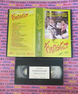 VHS CASTELLINA PASI Fantastico vol.39 BMG GBV 0500 no cd mc dvd lp LISCIO (VM5)