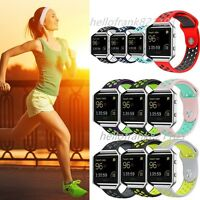 Replacement Silicone Sport Band Fitness Bracelet Strap For Fitbit Blaze Tracker