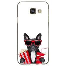Coque souple pour Samsung Galaxy A3-2016 avec impression Motifs bulldog cine_1