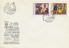 Europa cept 1979-Portugal 1441-42 y fósforo en primero FDC etiquetas carta-EUR 45,00