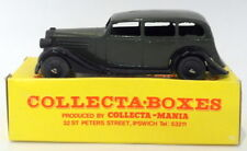 Vintage Dinky 30D - Vauxhall Saloon - In Collecta Box Green 2nd Listing