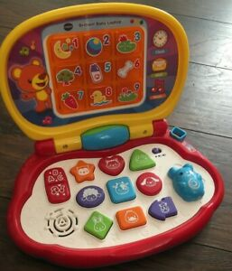 VTech Brilliant Baby Laptop Learning Interactive Travel Kids Light Up