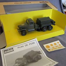 400E Solido 6044 GMC Cckw 353 Compressor 1:50 +Box