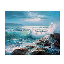 5D Diamond Embroidery Painting DIY Sea Waves Scenery Stitch Kit Craft Home Decor