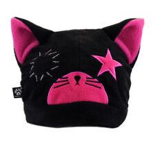 PAWSTAR Thimbles Ragdoll Kitty Hat - Punk CAT Fleece Beanie Black Pink[HP]1703