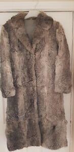 Real coney fur coat vintage