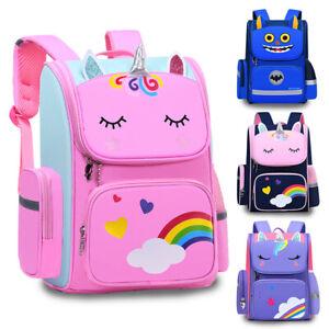 Boys Girls Kids Children Waterproof School Bag Rucksack Casual Backpack Bookbags