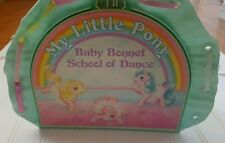 Vintage My Little Pony Baby Bonnet School of Dance Doll House Play Set 1986 Toy