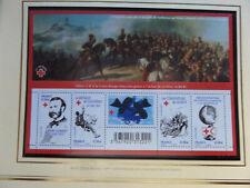 F4386  150e anniversaire de la Croix-Rouge  (4386 à 4390) ★★