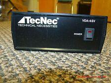 TecNec VDA-6SV HiFi Distribution Amp New Old Stock