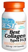 Pastillas De Colageno Hidrolizado Con Vitamina C - 180 Capsulas De Colageno