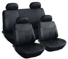 Siège en cuir Housses de Noir Pièce pour Peugeot Renault Seat Skoda