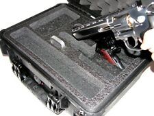 Harbor Freight precut 2 Large revolver pistol foam fits your Apache 3800 case