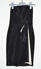 WOMENS ZARA BASIC DRESS PARTY COCTAIL CORSET HALTERNECK BLACK S SMALL EXCLNT