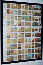 "100 Essential Movies Solart Scratch-Off Art 18"" X 24""Poster"