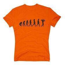 Bodybuilding Herren-T-Shirts aus Baumwollmischung mit Rundhals