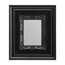 """Photo Frame, Black Plastic Frame, 5 x 7"""""""