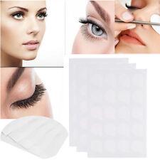 100Pcs Disposable Eyelash Glue Holder Pallet Eye Lash Extension Womens Glue Pads