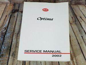 2002 KIA Optima Service Manual OEM Shop Repair Book