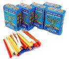 Lot 5 Hanukkah-Chanukah Jewish Menorah Candles Pack Made in israel.new