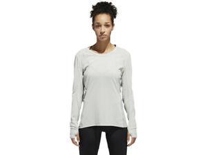 Adidas Women's Supernova Long Sleeve Running T-Shirt  (Medium / UK 12-14)
