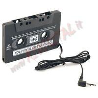 ADAPTADOR AUTO PARA CASETE AUDIO JACK AURICULARES 3.5mm MP3 DVD CD MP4 IPOD USB