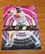 2007 Fleer In the Zone Atlanta Braves Baseball Card #AJ Andruw Jones