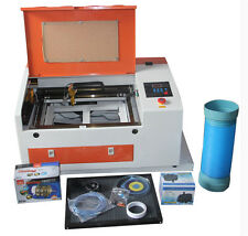 50W CO2 Laser Engraver Engraving Cutting Machine Electric Up&Down Table USB Port