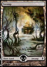 Swamp Version 6 // NM // Zendikar // engl. // Magic the Gathering