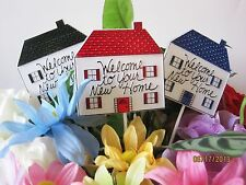 Floral Picks WELCOME TO YOUR NEW HOME Assorted Colors Pk/12!
