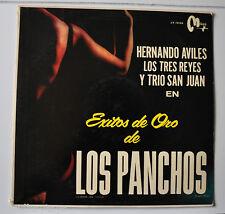 HERNANDO AVILES : Exitos de Oro de Los Panchos LP Record Sexy cover