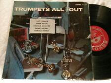 TRUMPETS ALL OUT Art Farmer Ernie Royal Savoy RVG dg LP Charlie Shavers