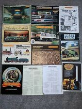 More details for 9 vintage hornby railways catalogues - 70s & 80s collection joblot oo gauge