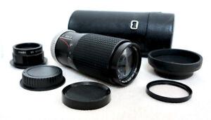 Canon EOS DIGITAL fit 80 200mm 400mm ZOOM lens for 400D 600D 1200D 7D 2000D +