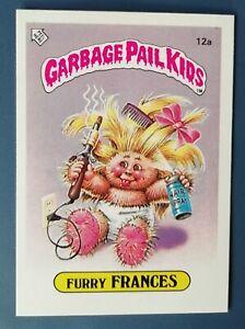 Furry Francis 12a UK Garbage Pail Kids Series 1(1985)Topps~NMT/MINT~Pack Fresh