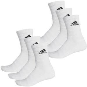 2 X Adidas Sport Crew Socken 2 X 3er Pack Weiß DZ9356 White 6 Paar