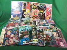 Star Trek 21 Classic Comic Books in Mint Condition CX14