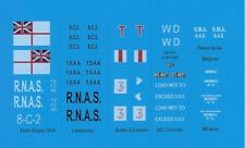 Black Lion BLD72028 1/72 Decals WWI British and Belgian Armored Cars and Trucks