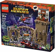 LEGO DC COMIC 76052 - BATMAN CLASSIC TV SERIES - BATCAVE - BNISB - MELB SELLER