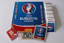 PANINI Euro 16 France 2016 - Mega Komplettset + Hardcover + Cola + McD + Update