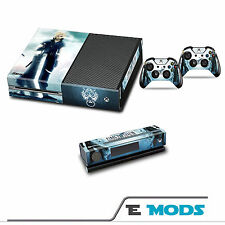FINAL FANTASY 7 FF7 XBOX ONE Console Pelle Autoadesivo KINECT + 2 controller in vinile