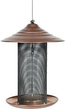 Bird Feeder, Mesh Hanging Backyard Coppertop Thistle Screen Drainage Steel New