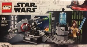 c LEGO 75246 - STAR WARS - DEATH STAR CANNON (nuovo, mai aperto)